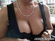 busty amateur milf home action with.