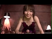 Hitomi Fujihara dressed up in purple glitter sucking dick view on xvideos.com tube online.