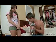 Step-Sister want her First Fuck and Step-Bro Helps