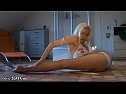 incredible contortion by zlata in a.