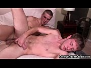 hardcore gay after a steamy make out session,.