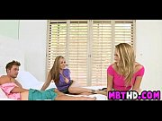 Horny stepmother joins teens  1  002