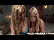 how would you like two blondes sucking you off?