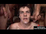 bukkake gay boys - nasty bareback facial cumshot.