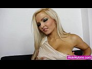 super blond-haired jenna good-looking extreme nylon.