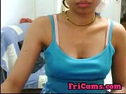 Sexy Indian girl plays on cam