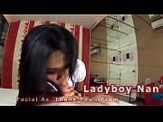 Amateur Ladyboy Nan Gives A Blowjob