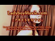 phuket ladyboy sophia strips and strokes
