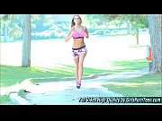 kenna porn blonde xxx show jogging.