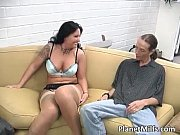 Busty brunette could not  say no to hard