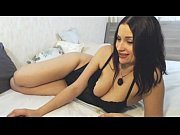 Hot Blackhaired girl shows her awesome body www.camheavens.com