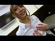 Asian style OJT for New office lady sucking dildo