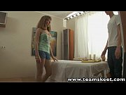 RubATeen Tight blonde European teen Aglaya fucks masseur