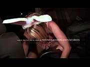 sexy blonde bunny going out clubbing and masturbating.