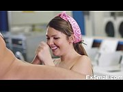 cali hayes horny at laundromat