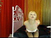 blonde goddess squirting without touching herself!!!.