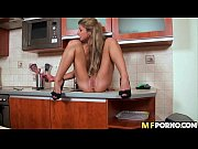 Victoria Tiffani is so horny she fucks her pussy with kitchen utensils 3