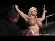 German slavegirl Melanie Moons electro bdsm and zapped electric toy tortures of