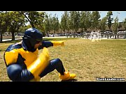 latina sasha jones riding in a cyclops xxx parody