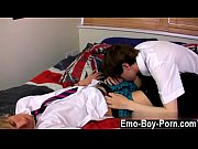 Twink video Ethan Knight and Brent Daley are two wild students liking