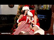 Christmas Oral by Sapphic Erotica - sensual lesbian sex scene with Tess and Lind
