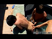 Teen gay twink emo anal movies Gorgeous Asher Christiansen, Brenden