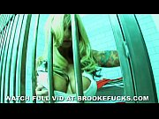 Brooke Banner In Jail Masterbates