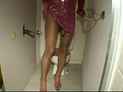 shemale shavonna starr in shiny pantyhose.