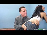 Raven haired teen gets her tight pierced pussy plundered by her prof view on xvideos.com tube online.