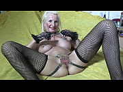 ANNEKE_PIERCINGS pussy chains pussy wide open in Butterfly look