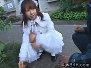 innocent japanese teen maid disgraced by.
