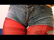 teen has huge cameltoe in tight jeans! plus, big-round-ass!