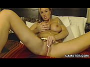 huge tits webcam model masturbates w/.