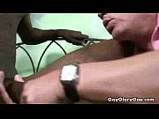 private handjob and rubbing with black gay muscular.