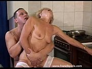 Old slut fucks with a young guy