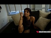 Gina Valentina fucks with step bro in the living room