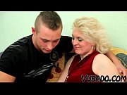 old blonde milf fucks young dude.