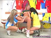 Threesome Lesbian Action