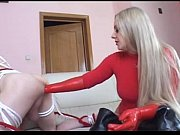 Red Latex Gloves Ass Deep Fisting