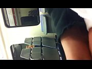 flash public male on train