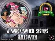 whore sisters halloween