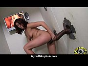 black girl have surprise gloryhole 8