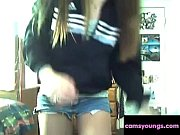 Teenage Girl Shows Us Her Sexy Body and Masturbates...