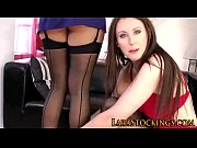 Stockings sluts eat out