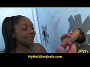 Sexy girl shows off her blowjob skills at gloryhole 4