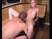 amateur blond gets fucked on a.