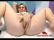 big tits blonde anal and pussy masturbation - chattercams.net