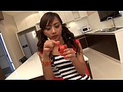ladyboy pancake blows bubbles and cums