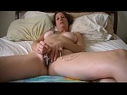 Jenna Sin solo masturbation with a bullet