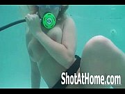 Blonde Laci Orgasms Underwater Scuba Diving